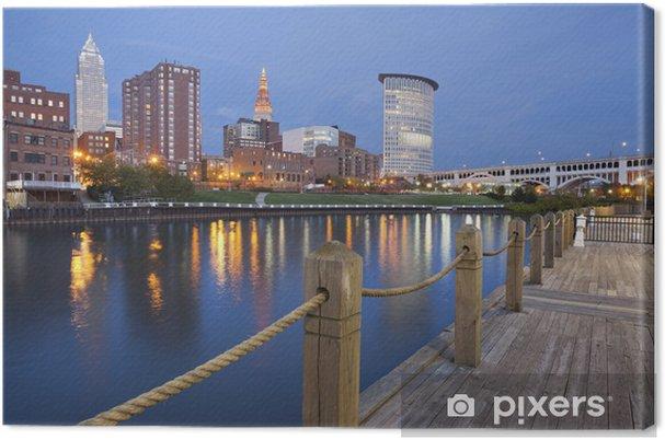 Obraz na płótnie Cleveland - Ameryka