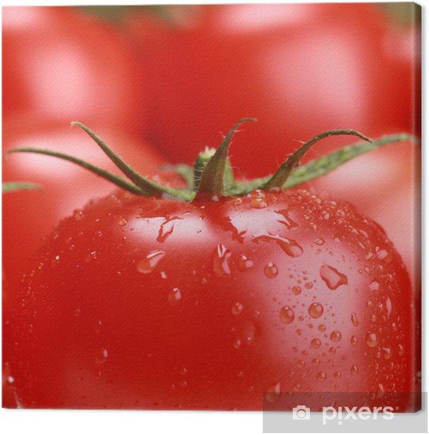 Obraz na płótnie Close-up z pomidorów - Tematy