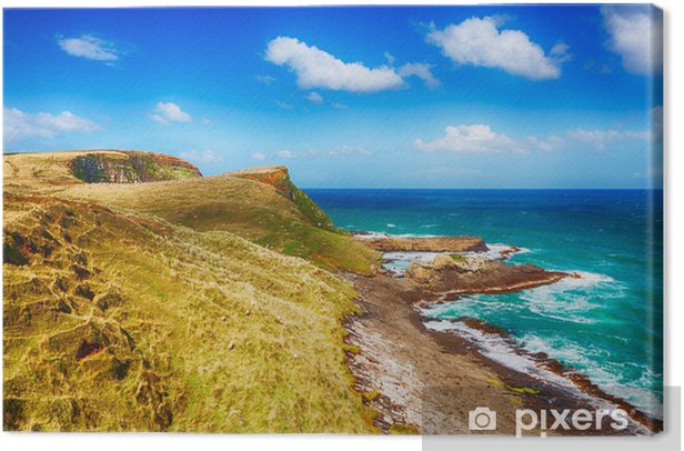 Obraz na płótnie Coastal view - Woda