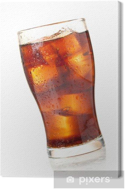 Obraz na płótnie Cola szkła - Woda mineralna i napoje gazowane
