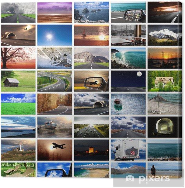 Obraz na płótnie Collage promocje - Wakacje
