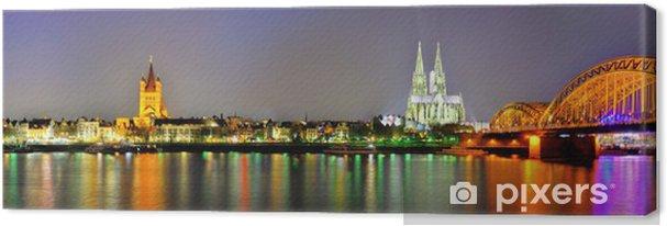 Obraz na płótnie Cologne panorama2 - Wakacje