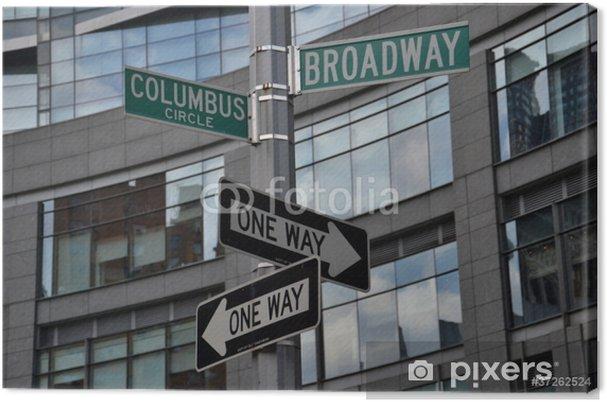 Obraz na płótnie Columbus Circle - Pejzaż miejski