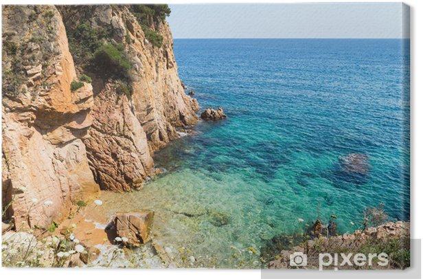 Obraz na płótnie Costa Brava - Woda