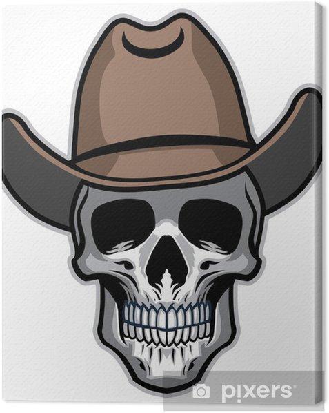 Obraz na płótnie Cowboy skull - Części ciała