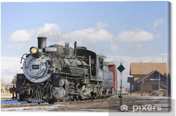 Obraz na płótnie Cumbres i Tolteków Narrow Gauge Railroad, Antonito, Colorado, USA - Ameryka