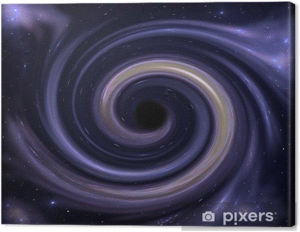 Obraz na płótnie Czarna dziura - Przestrzeń kosmiczna