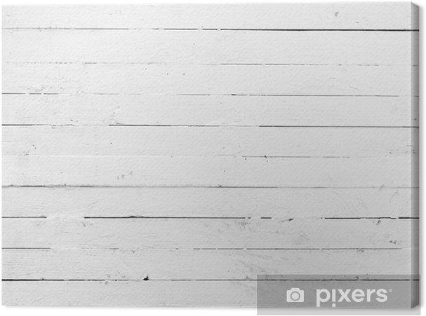 Obraz na płótnie Czarno-białe tło wyblakły malowane drewniane deski - Tematy