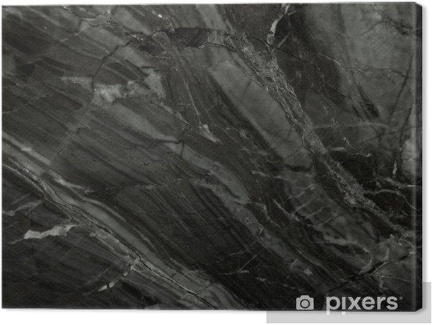 Obraz na płótnie Czarny marmur tekstury. (High.Res) - Tekstury