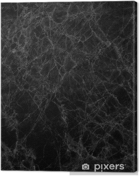 Obraz na płótnie Czarny marmur tekstury (wysoka rozdzielczość) - Tekstury