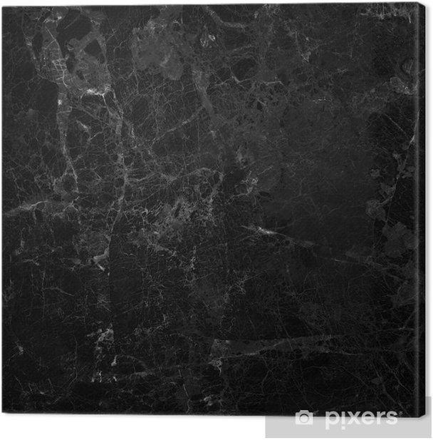 Obraz na płótnie Czarny marmur - Surowce