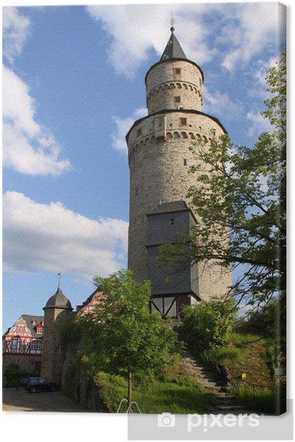 Obraz na płótnie Czarownica w wieży zamku w Idstein - Zabytki