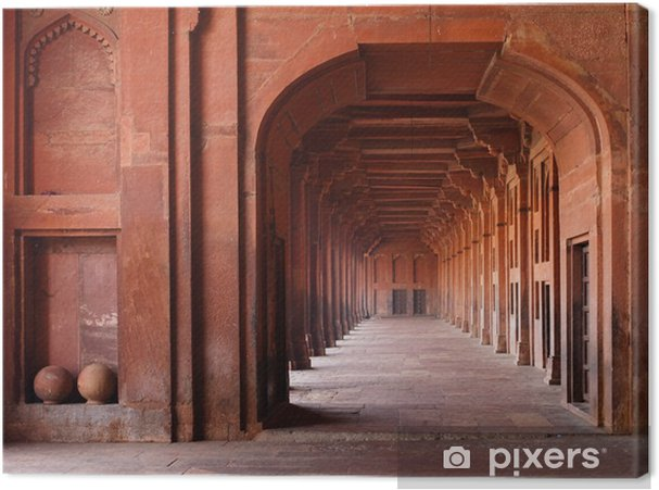 Obraz na płótnie Czerwone Archways w meczecie - Tematy