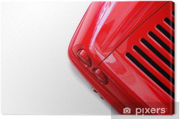 Obraz na płótnie Czerwone i biale - Transport drogowy