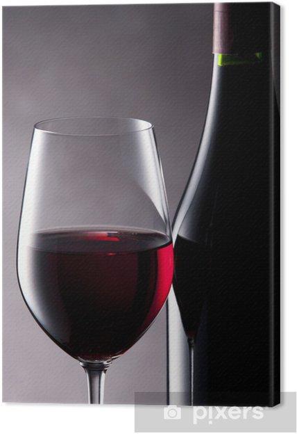 Obraz na płótnie Czerwone wino - Tematy