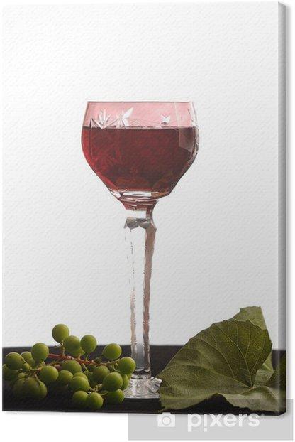 Obraz na płótnie Czerwone wino - Alkohol