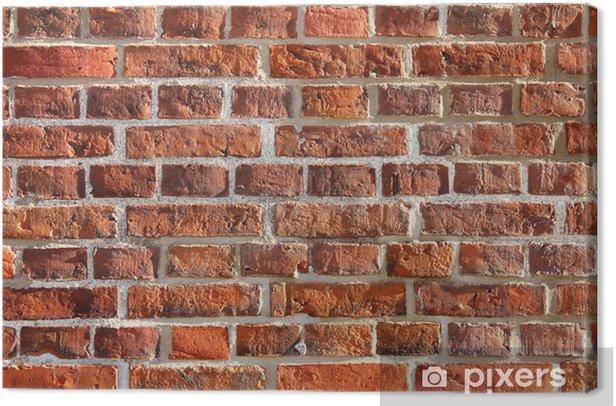 Obraz na płótnie Czerwony mur z cegły - Tematy