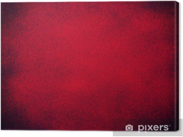 Obraz na płótnie Czerwony papier tekstury tła - Tła