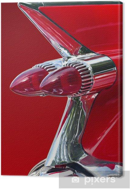 Obraz na płótnie Czerwony samochód marzenie - Transport drogowy