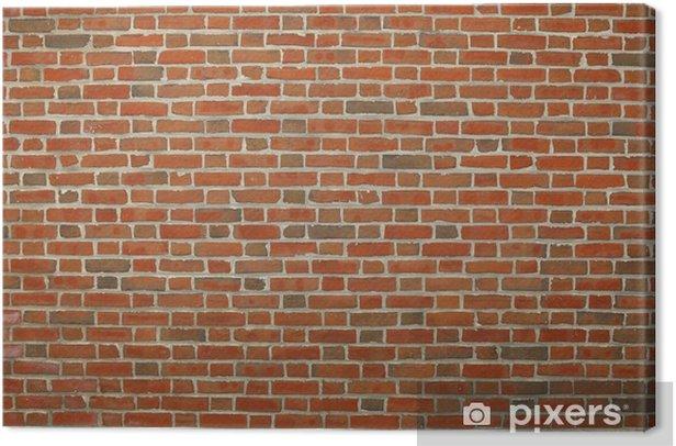 Obraz na płótnie Czerwonym tle ceglanego muru. - Tematy