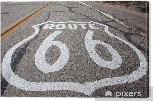 Obraz na płótnie Część drogi na Historic Route 66 - Tematy