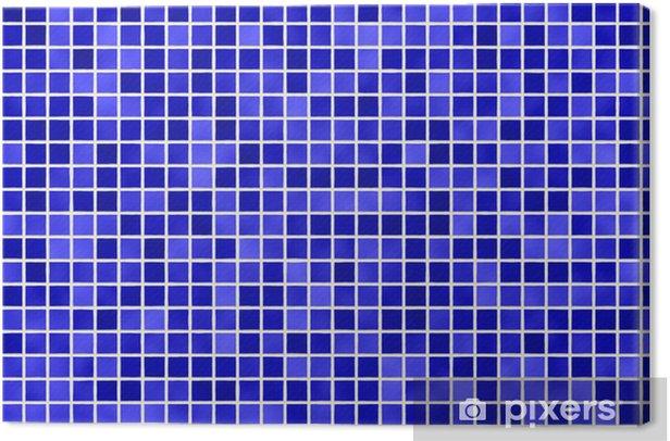 Obraz na płótnie Dachówka dachówka niebieski - Przemysł ciężki
