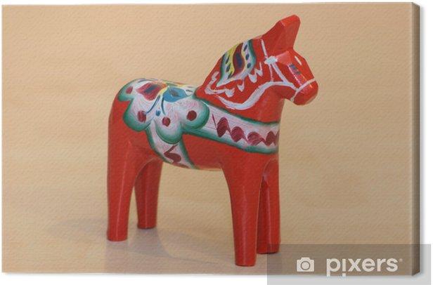 Obraz na płótnie Dala koń ze Szwecji - Europa