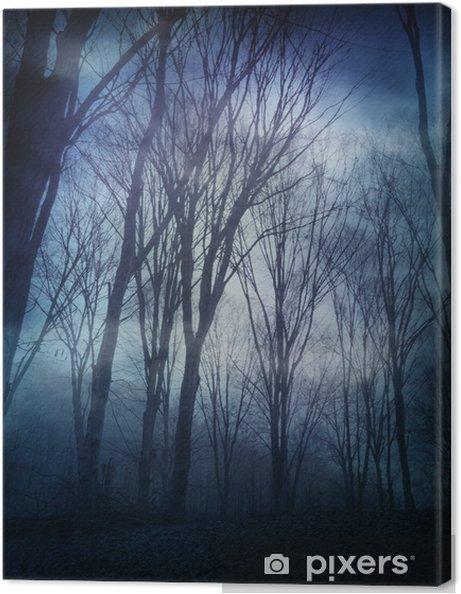 Obraz na płótnie Dark forest - Inne uczucia