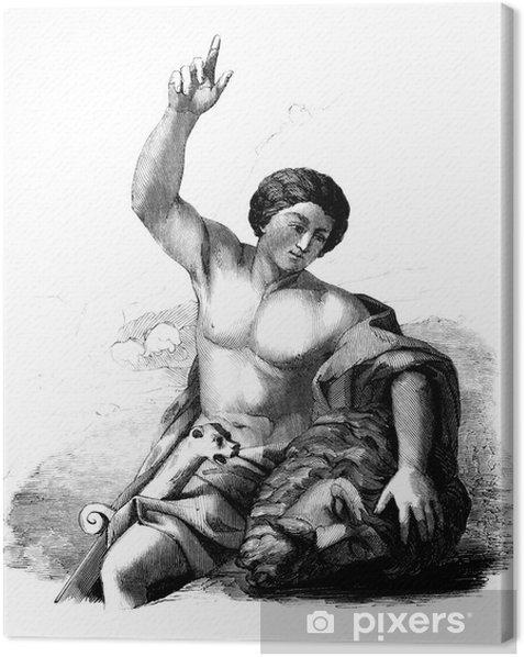 Obraz na płótnie David: zabił Goliata - Religie
