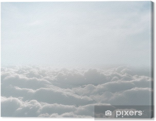 Obraz na płótnie Definicja z wysokiej skyscape chmur - Tematy