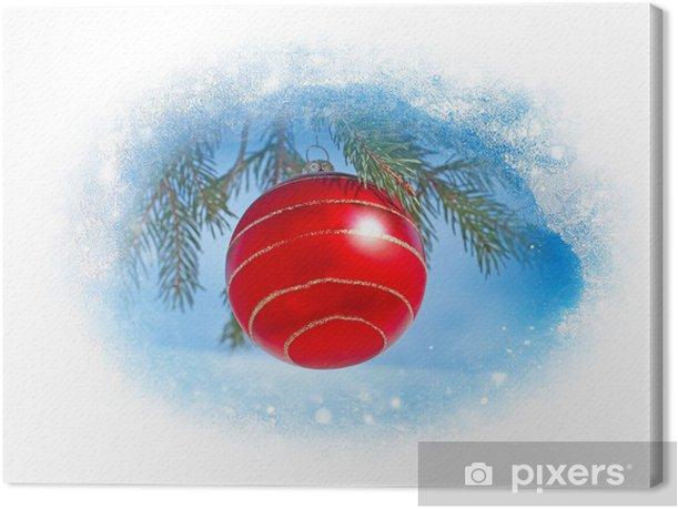 Obraz na płótnie Dekoracje na Boże Narodzenie - Święta międzynarodowe