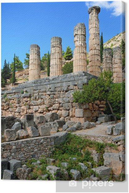 Obraz na płótnie Delphi, Grecja. - Miasta europejskie