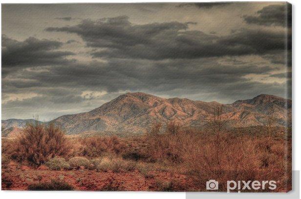 Obraz na płótnie Desert Storm - Inne pejzaże