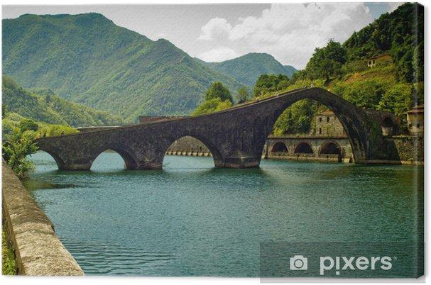 Obraz na płótnie Diabelski Most - Borgo a Mozzano