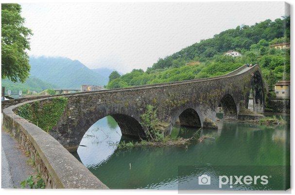 Obraz na płótnie Diabelski Most - most Madeleine
