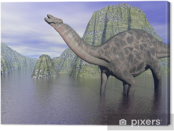 Obraz na płótnie Dicraeosaurus dinozaur - Tematy