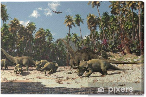 Obraz na płótnie Dinosaures - Tematy