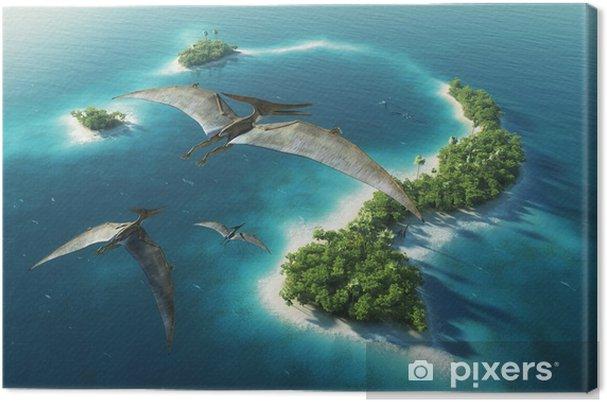 Obraz na płótnie Dinozaury park naturalny. Jurassic Period - Tematy