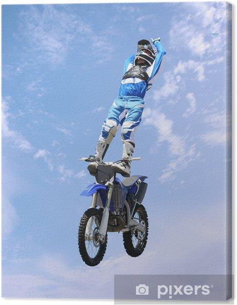 Obraz na płótnie Dirt bike stunt rider - Sporty ekstremalne