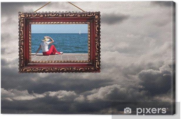 Obraz na płótnie Dobre perspektywy - pogoda lub życia, pojęcie - burze i Sunshinkai - Tła