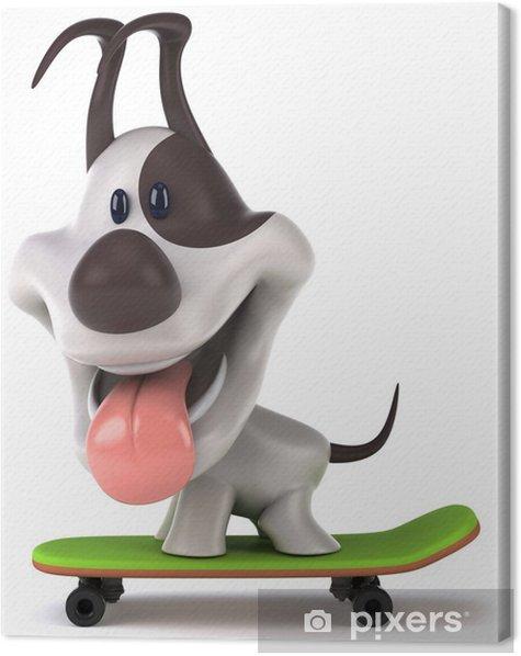 Obraz na płótnie Dog Fun - Ssaki