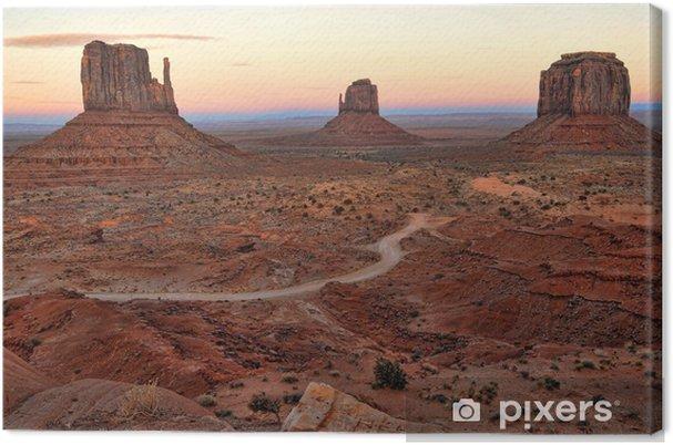 Obraz na płótnie Dolina pomnik - Góry