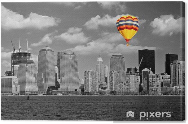 Obraz na płótnie Dolny Manhattan Skyline - Miasta amerykańskie