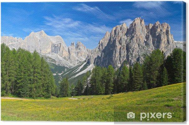 Obraz na płótnie Dolomity - Catinaccio montowania - Europa