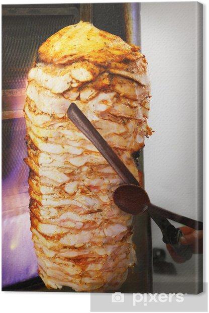 Obraz na płótnie Doner Kebab - Posiłki