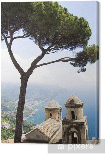 Obraz na płótnie Doskonały widok z Amalfi od Ravello - Europa
