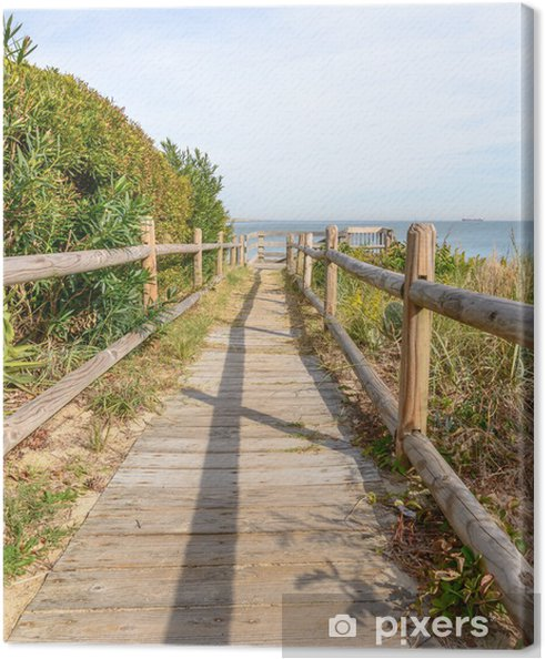 Obraz na płótnie Dostęp do plaży - Woda