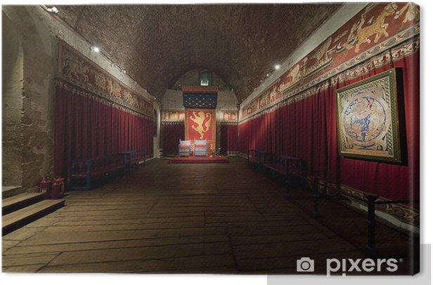 Obraz na płótnie Dover Castle sala tronowa kings - Europa