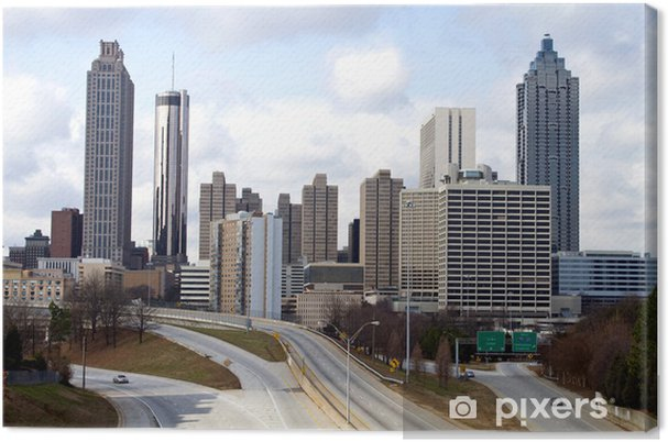 Obraz na płótnie Downtown Atlanta Skyline - Inne