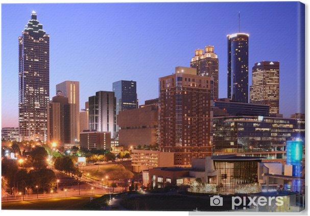 Obraz na płótnie Downtown Atlanta - Ameryka